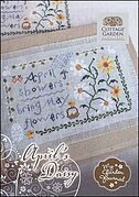 April's Daisy - My Garden Journal - Cross Stitch Pattern