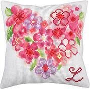 For You - Stamped Needlepoint Cushion Kit