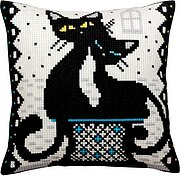 Love - Stamped Needlepoint Cushion Kit