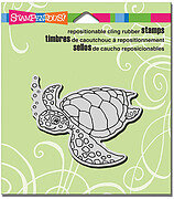 Sea Turtle - Cling Rubber Stamp
