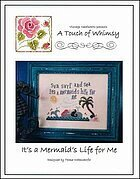 It's a Mermaid's Life For Me - Cross Stitch Pattern