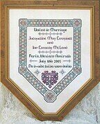Celtic Wedding Sampler - Cross Stitch Pattern