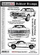 Classic Cars Volume 2 - Cling Rubber Stamp