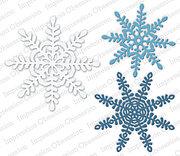 Snowflake Background American made Steel Die Impression Obsession DIE211-YY New