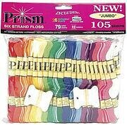 Prism Six-Strand Floss Jumbo Pack 8 Meters 105/Pkg