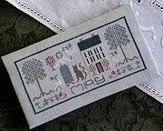 May - Pocket Calendar Cover - Cross Stitch Pattern