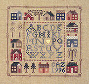12 Houses - Cross Stitch Pattern