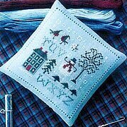 Spot of Winter Cross Stitch Pattern