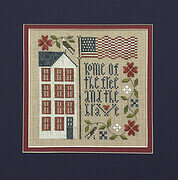 Free And Brave - Cross Stitch Pattern