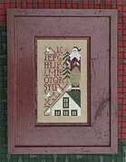 Up On The Roof Top - Cross Stitch Pattern