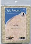 14 Count Oatmeal Aida Fabric - 20 x 30 inches