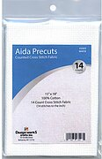 14 Count White Aida Fabric - 15 x 18 inches