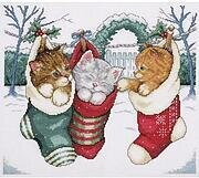 Cozy Kittens - Counted Cross Stitch Kit