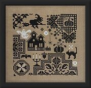 Quaker D'Halloween - Cross Stitch Pattern
