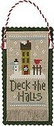 Jingles - Deck the Halls - Cross Stitch Pattern