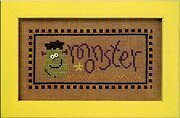 Halloween Boo Club - Brew/Monster - Cross Stitch Pattern