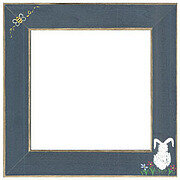 Bumble Bee & Bunny Frame