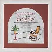 Welcome to the Porch - Cross Stitch Pattern