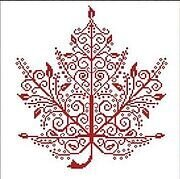 Maple Leaf - Cross Stitch Pattern