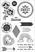 Sweet You - Clear Stamps
