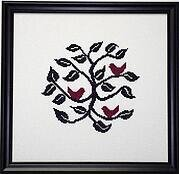 Red Birds - Cross Stitch Pattern