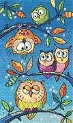 Hanging Around - Birds of a Feather - Cross Stitch Pattern