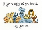 Wag Your Tail - Cross Stitch Pattern