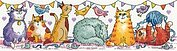 Cat Show - Cross Stitch Pattern