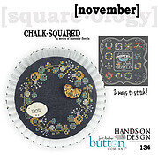 Chalk Squared - November - Cross Stitch Pattern