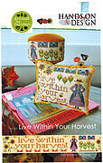 Live Within Your Harvest - Cross Stitch Pattern
