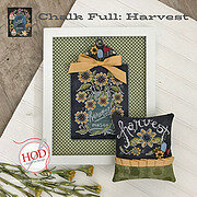 Harvest - Chalk Full - Cross Stitch Pattern
