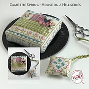 Came the Spring - House on a Hill - Cross Stitch Pattern