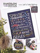 Let's Talk Spring - Cross Stitch Pattern
