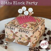 25th - Block Party - Cross Stitch Pattern