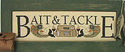 Bait and Tackle - Cross Stitch Pattern