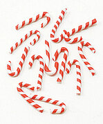 Christmas Candy Canes - Dollhouse Miniature