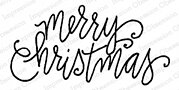 Merry Christmas Light - Cling Rubber Stamp