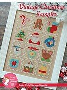 Vintage Christmas Sampler - Cross Stitch Pattern