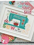 Sew She Did - Cross Stitch Pattern