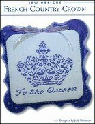 French Country Crown - Cross Stitch Pattern