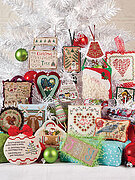 Just Cross Stitch 1997-2013 Christmas Ornament DVD