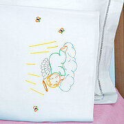 Precious Angel Children's Pillowcase - Embroidery Kit