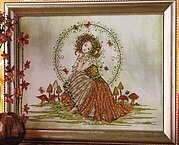 Earth Goddess - Cross Stitch Pattern