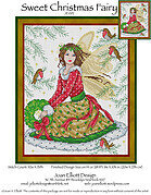 Sweet Christmas Fairy - Cross Stitch Pattern