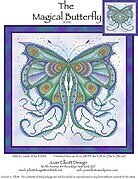 Magical Butterfly - Cross Stitch Pattern