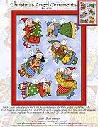 Christmas Angel Ornaments - Cross Stitch Pattern