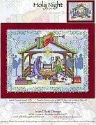 Holy Night - Cross Stitch Pattern