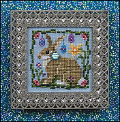 Dewdrop (with embellishments) - Cross Stitch Pattern
