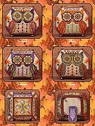 Owls of October II - Limited Edition - Cross Stitch Pattern