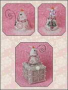 Crystal Snowlady Mouse Limited Edition Ornament